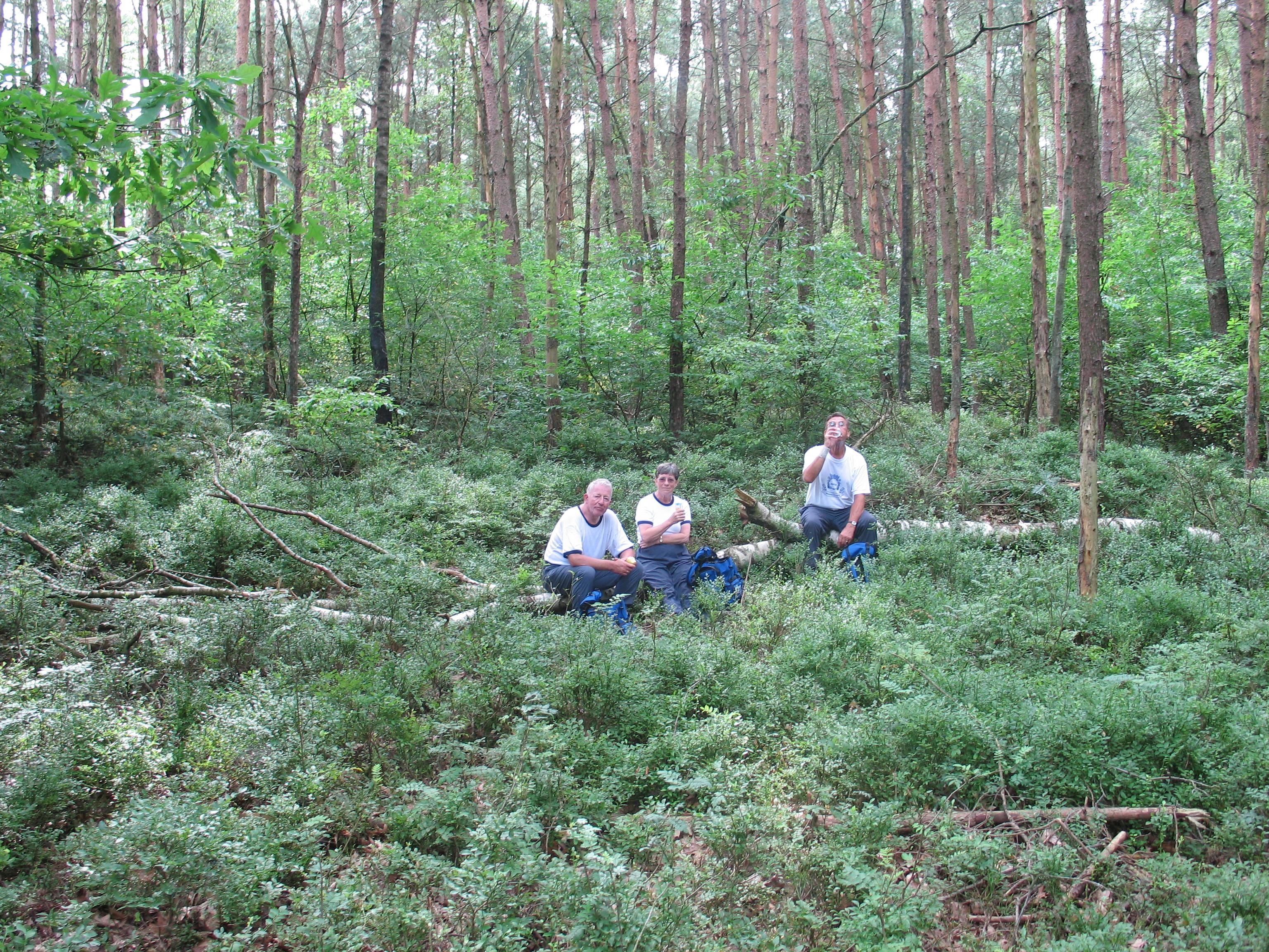 Dirk, Jan & Carla 4e dag