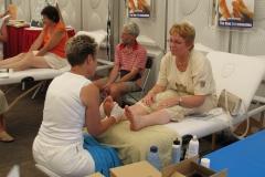 Jopie op massagetafel 2
